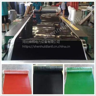 黑色工业橡胶板 耐油 耐磨橡胶板 橡胶垫 耐酸 绝缘胶板1-10mm配电室专用