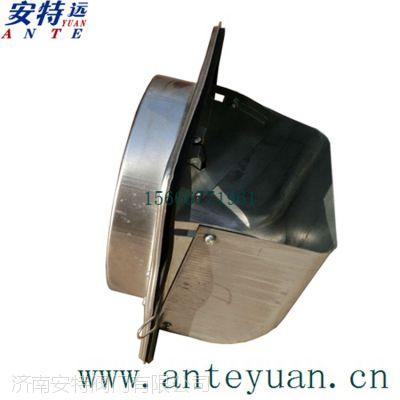 不锈钢导流式烟道止回阀厨房排烟道防火止回阀