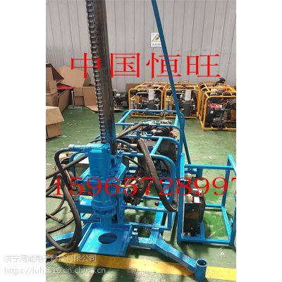 重庆忠县人抬山地钻机 气动高效勘探钻机 地表取样钻机 厂家直销