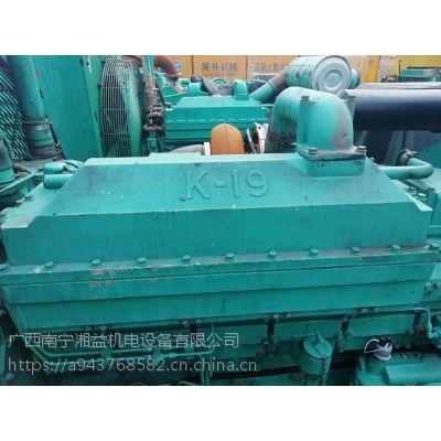广西进口康明斯二手柴油发电机出售原装机器