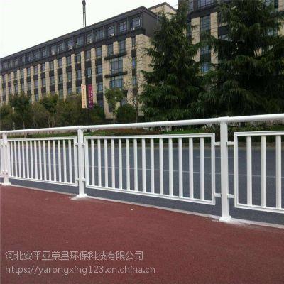 现货市政护栏@街道隔离栅@市政工程围栏安装费用
