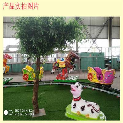 新款儿童室内外游乐设施欢乐跑马游艺项目厂家报价
