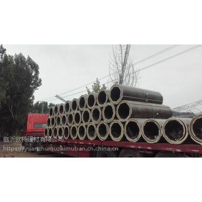 古建筑门柱浇筑模板|木质圆柱模板厂家|圆模板规格