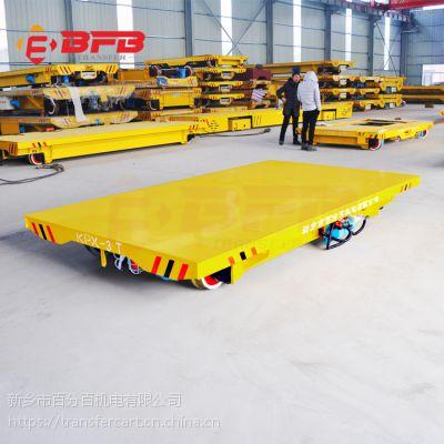 厂家实力生产转运输太阳能设备生产线的蓄电池轨道平板车