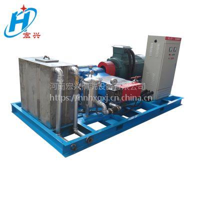 马路人行道斑马线宏兴牌1200公斤HX-80150型超高压清洗机