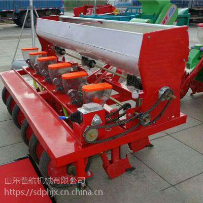 普航拖拉机后置娃娃菜精播机 手推汽油播种机 手推香菜播种机 质量保证