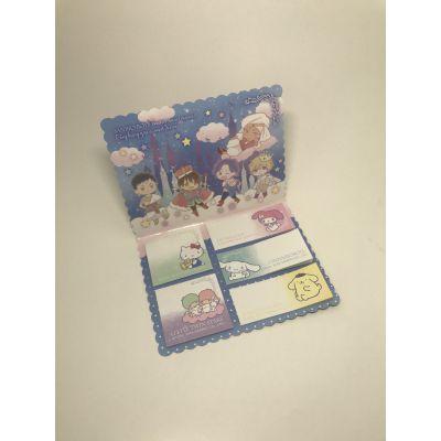 东莞厂家定制销售卡通方形便签组合-博艺印刷品