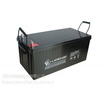 电池厂家直销 12V200AH 太阳能路灯专用