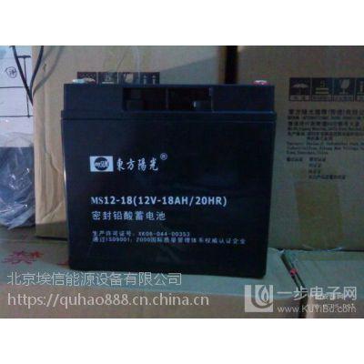 东方阳光蓄电池MS12-25 12V25Ah阀控铅酸免维护