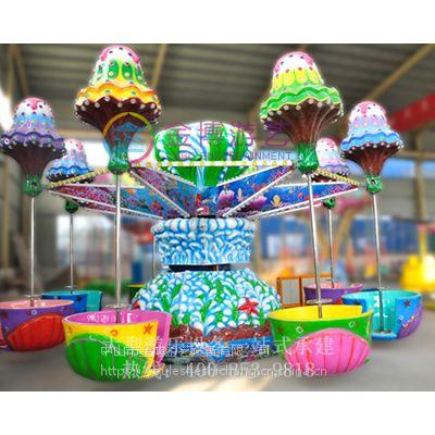 大型游乐设备厂家 逍遥水母游乐设施