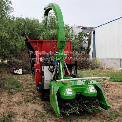 履带式大型黑麦草青储机 农业机械 优质玉米小麦秸秆粉碎机