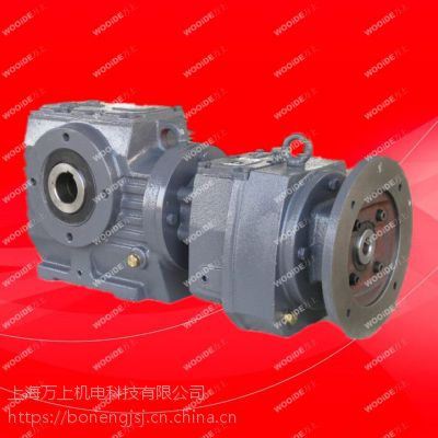 S87-0.75kw-4p蜗轮蜗杆齿轮减速电机上海万上供应