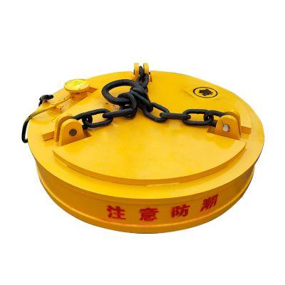 Φ160挖机电磁吸盘 废钢电磁吊保证质量