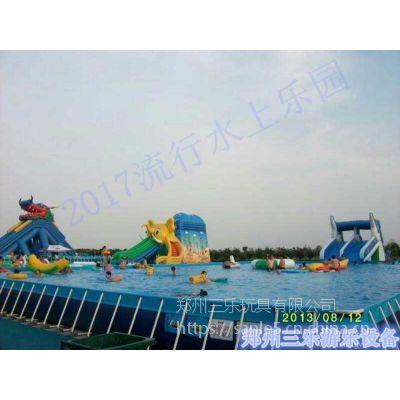 湖南省大型支架水池定制/经营水上乐园生意如何?