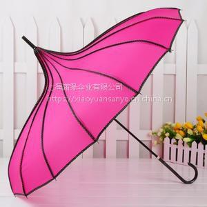供应宝塔雨伞 宝塔广告伞 宝塔遮阳伞 女式宝塔伞