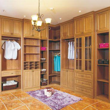 黄台路实木衣柜多少钱,青岛实木衣柜定制