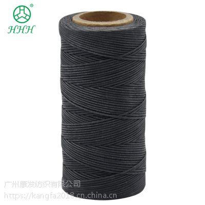 康发正品进口630D 6股圆蜡线皮革缝纫线方向盘手工线耐磨耐高温