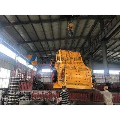 郑州正德机械专业生产双级无筛底粉碎机设备 深受砖厂客户信赖与好评