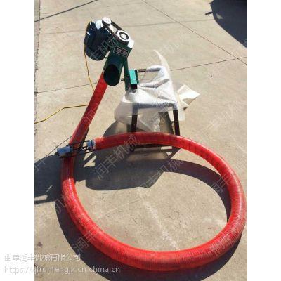 电动升降式上料送料机 根据不同需要定制软管吸粮机润丰厂家直销