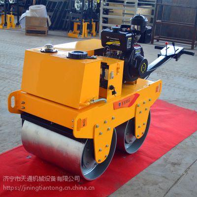 天通手扶单轮压路机产品特点