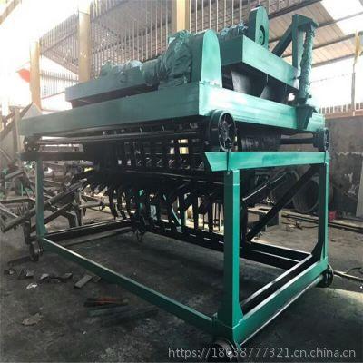 2018翻堆机价格 槽式翻抛机 有机肥流水线设备