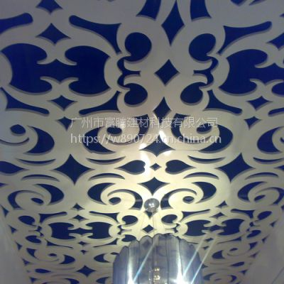 优质铝单板异形天花吊顶铝合金户外造型门头雕花幕墙造型