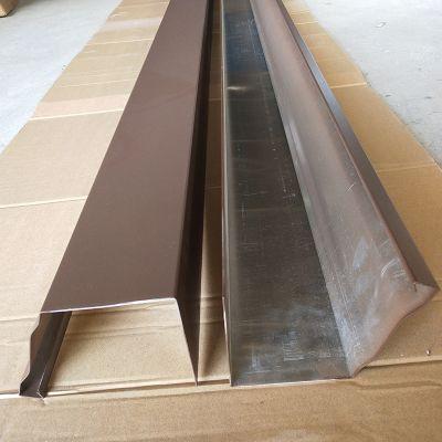石家庄铝合金K型雨水槽屋面排水系统