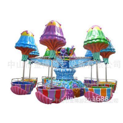 金博逍遥水母游乐设备 大型户外游艺设备
