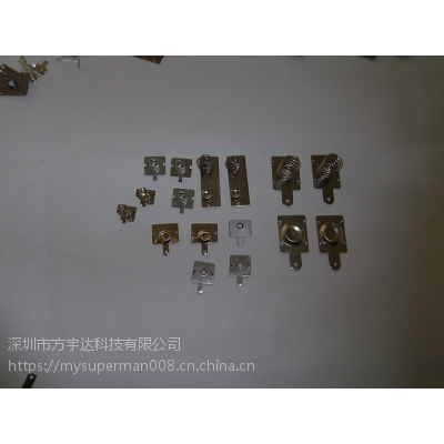 深圳福永厂家直销五金弹片,电池片,量大有优