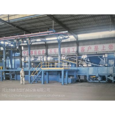 铸造井盖,铸造设备,铸造造型机 铸造生产线