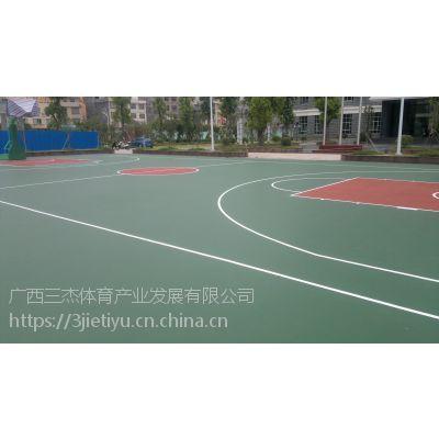 广西学校丙烯酸运动场 硬地丙烯酸球场,施工工期短