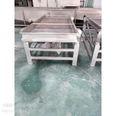 菏泽宏成牌小型全自动豆芽震动去壳机厂家直销
