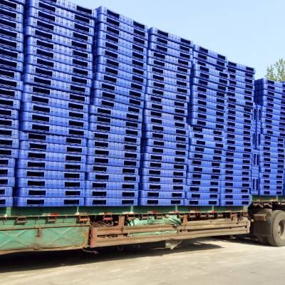 供应1412型吹塑塑料托盘/叉车用HDPE吹塑塑料托盘