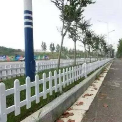 四川南充高坪塑钢护栏多少钱一米 pvc护栏型材生产厂家 新农村建设草坪护栏