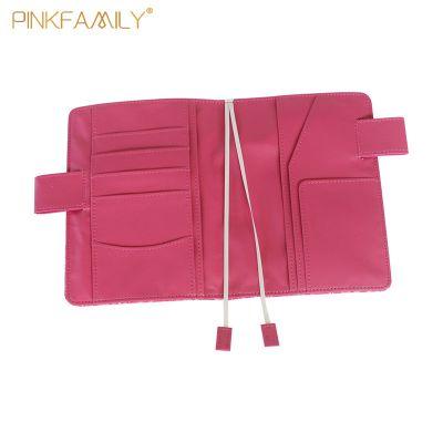 A5手账本PU两用卡包随身皮面笔记本环保定制可印LOGO创意文具批发