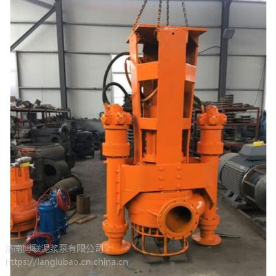 8寸绞吸泵-液压清淤泵-挖机抽沙泵
