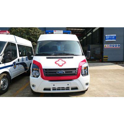 销售全顺高档救护车—V348监护型救护车