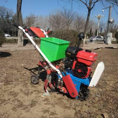玉米施肥器 自走式田地作物除草机 厂家促销培土耘播机