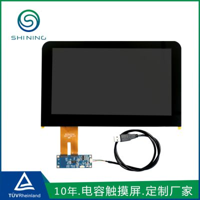 东莞电容式触摸屏定制 11.6寸医护辅助设备诊察设备10点全贴合触摸屏