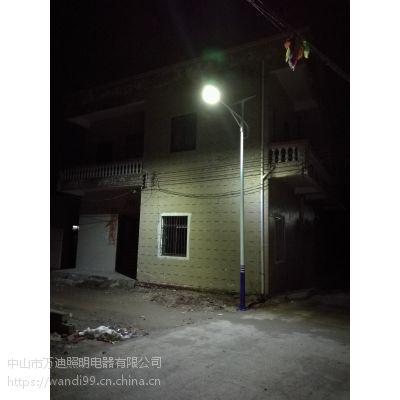 广顺销6米LED太阳能路灯 6-9米LED太阳能乡镇路灯升级改造