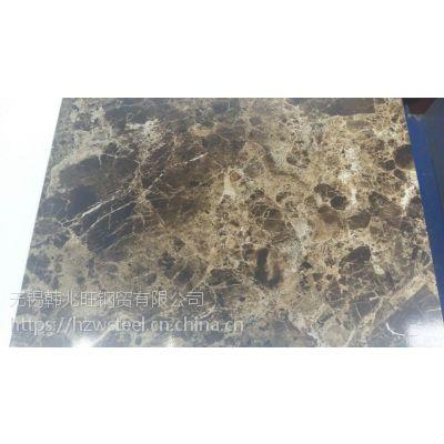 供应国内高品质大理石纹彩钢板