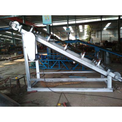 邯郸爬坡式上料运输机 厂家直销物流装卸皮带输送机