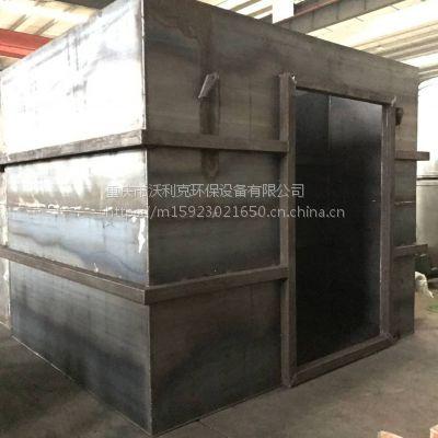 加工定制沃利克品牌150m3/d碳钢材质一体化污水处理设备装置