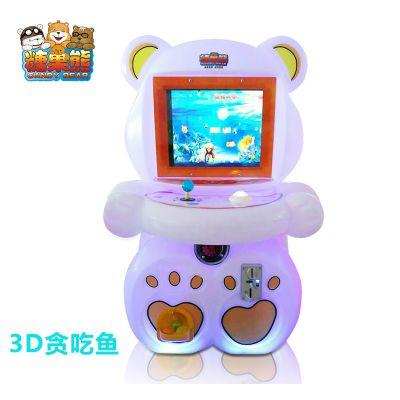 糖果熊礼品机电玩游戏机儿童室内拍拍乐游戏机糖果熊