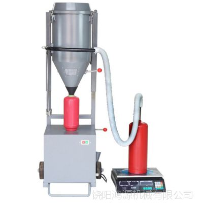 干粉灭火器充装设备,鸿源灭火器灌装机价格型号