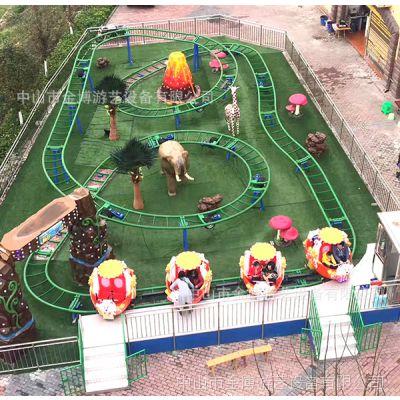 户外大型游乐场大型机械游乐设备厂家 金博儿童过山车 自旋滑车
