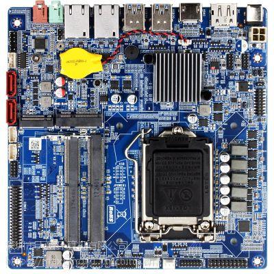 Maxtang大唐SKD10主板 H110双4K显示ITX主板 LVDS点屏