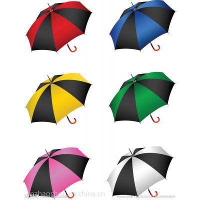 高档黑胶布雨伞