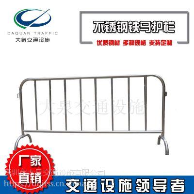 厂家定制不锈钢铁马护栏201不锈钢铁马护栏