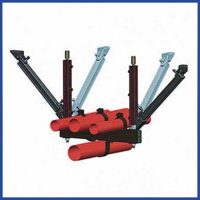 河北地下管道抗震支吊架、管道支架系统Q235B